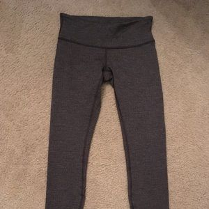 """Wunder under low rise 28"""" size 6 gray knit pattern"""